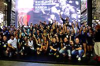 RIO DE JANEIRO, RJ, MULTIESPORTIVO-FEIRA - Movimentação no Arnold Classic Brasil no Rio Centro na Barra da Tijuca no Rio de Janeiro, neste domingo (31). O Arnold Classic Brasil é um evento multiesportivo, voltado tanto para o público business como para o público em geral, que abrange a maior feira de nutrição esportiva, lutas, performance e fitness do país, além de apresentar diversas competições olímpicas e não olímpicas e um congresso palestras nas areas de saúde, alimentação e atividade física com grandes nomes do cenário nacional e internacional. (Foto: Jorge Hely/Brazil Photo Press)