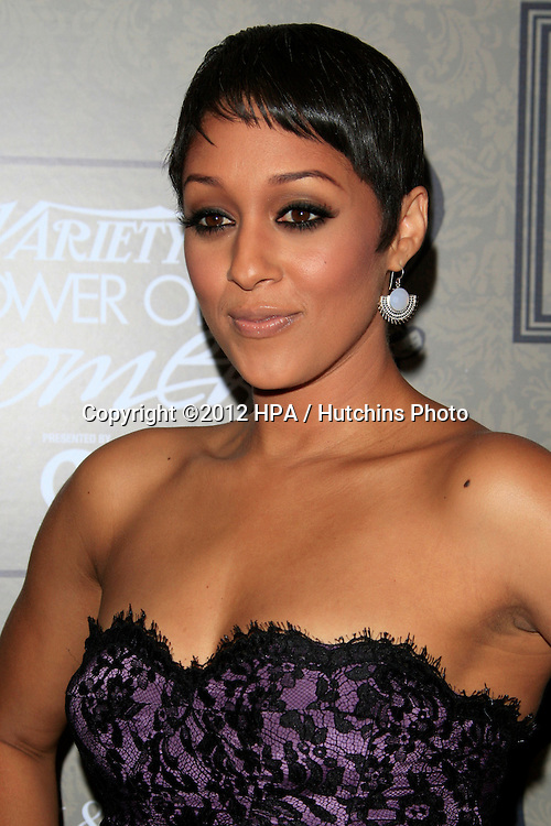 LOS ANGELES - OCT 5:  Tia Mowry arrives at the Variety's 4th Annual Power Of Women Event at Beverly Wilshire Hotel on October 5, 2012 in Beverly Hills, CA