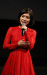 September 25, 2019, Tokyo, Japan - Japanese actress Mayu Matsuoka speaks at a press event for the 31st Tokyo International Film Festival (TIFF) as she became the ambassador of the festival in Tokyo on Tuesday, September 25, 2018. TIFF announced all nominated films for 10-day festival event from October 25 through November 3. (Photo by Yoshio Tsunoda/AFLO) LWX -ytd-