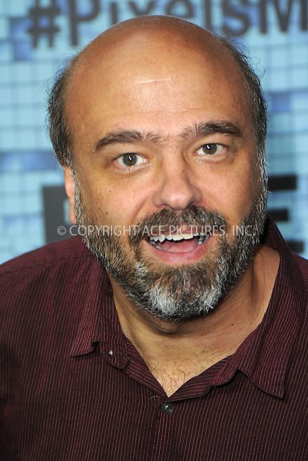 WWW.ACEPIXS.COM<br /> July 18, 2015 New York City<br /> <br /> Scott Adsit attending the 'Pixels' Premiere at Regal E-Walk on July 18, 2015 in New York City.<br /> <br /> Please byline: Kristin Callahan/ACE <br /> <br /> <br /> Tel: (646) 769 0430<br /> e-mail: info@acepixs.com<br /> web: http://www.acepixs.com
