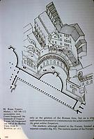 Markest of Trajan in Roma AD 100-112. Axonometric view.