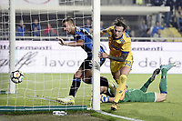 Bergamo 01-10-2017 Stadio Atleti Azzurri d'Italia Football Serie A 2017/2018 Atalanta - Juventus foto Daniele Buffa/Image Sport/Insidefoto <br /> nella foto: gol Federico Bernardeschi Juventus Goal celebration