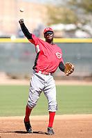 Gregorius Mariekson, Cincinnati Reds minor league spring training..Photo by:  Bill Mitchell/Four Seam Images.