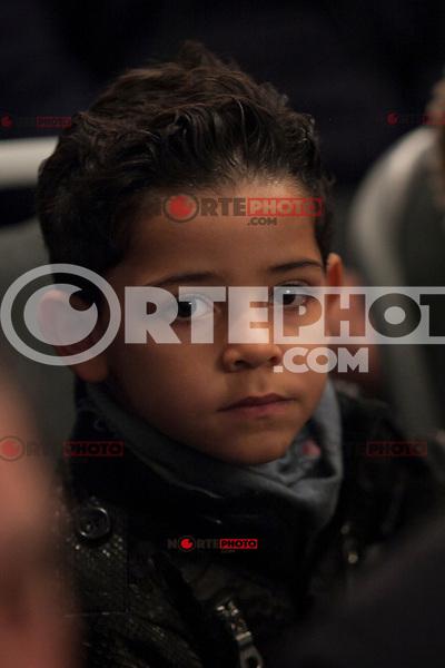 Cristiano Ronaldo Jr attends Jorge Mendes´s book presentation in Madrid, Spain. January 22, 2015. (ALTERPHOTOS/Victor Blanco) /NortePhoto<br /> NortePhoto.com