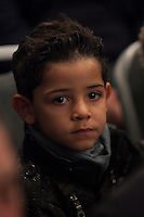 Cristiano Ronaldo Jr attends Jorge Mendes´s book presentation in Madrid, Spain. January 22, 2015. (ALTERPHOTOS/Victor Blanco) /NortePhoto<br />