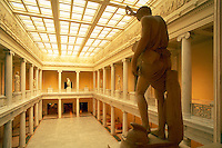 The Carnegie Hall of Sculpture exhibits classic masterpieces. Pittsburgh Pennsylvania United States Carnegie Museum.