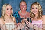 GALA: Lookin' Good at the Kerry Farmers Hunt Club Gala Ball in The Manor West Hotel, Tralee on Saturday night l-r: Lorna Flynn (Carragh Lake), Michelle O'Sullivan (Castlemaine) and Lisa Reidy (Abbeyfeale).   Copyright Kerry's Eye 2008