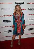 LOS ANGELES, CA - OCTOBER 03: Maria Bello attends the premiere of Momentum Pictures' 'The Late Bloomer' at iPic Theaters on October 3, 2016 in Los Angeles, California. (Credit: Parisa Afsahi/MediaPunch).