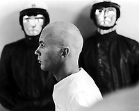 THX 1138 (1971) <br /> Don Pedro Colley<br /> *Filmstill - Editorial Use Only*<br /> CAP/KFS<br /> Image supplied by Capital Pictures