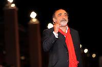 Alessandro Haber durante il red carpet per il film Cristine.<br /> Italian actor at the red carpet at the Rome's film festival