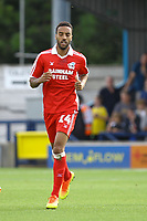 James Perch of Scunthorpe United during AFC Wimbledon vs Scunthorpe United, Sky Bet EFL League 1 Football at the Cherry Red Records Stadium on 15th September 2018