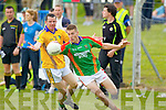 Brendan Guiney Feale Rangers in action against Thomas Ladden Mid Kerry in the First Round of the Kerry Senior Football Championship at O'Rahilly Park Ballylongford on Sunday.