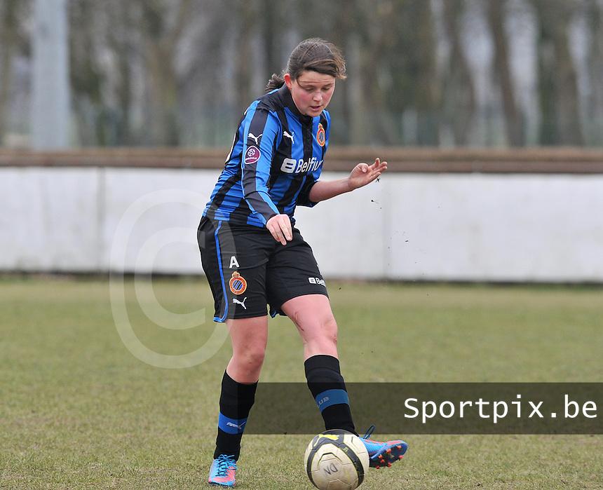 Club Brugge Dames : Sofie Huyghebaert.foto DAVID CATRY / Vrouwenteam.be
