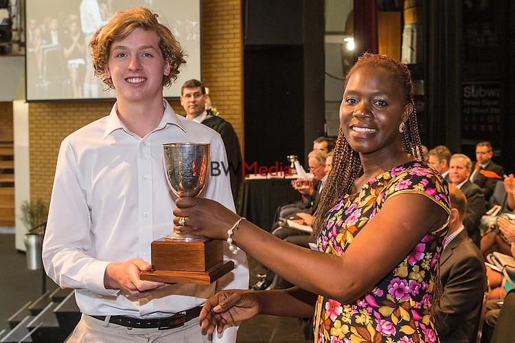 King's College Senior Prizegiving 2016, Wednesday, December 07, 2016.Photo: David Rowland / One-Image.com