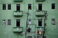 Havana_Cuba, 16 de Maio de 2011..Detalhes da arquitetura da cidade..Foto: LEO DRUMOND / NITRO