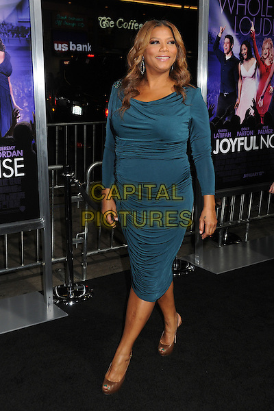 Queen Latifah.'Joyful Noise' Los Angeles premiere held at Grauman's Chinese Theatre, Hollywood, California, USA..9th January 2012 .full length dress teal green blue  .CAP/ADM/BP.©Byron Purvis/AdMedia/Capital Pictures.