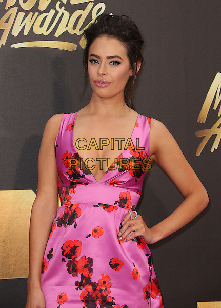 09 April 2016 - Burbank, California - Chloe Bridges. 2016 MTV Movie Awards held at Warner Bros. Studios. <br /> CAP/ADM/SAM<br /> &copy;SAM/ADM/Capital Pictures