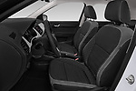 Front seat view of a 2019 Skoda Fabia Ambition 5 Door Hatchback front seat car photos