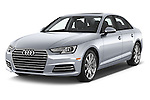 2017 Audi A4 Premium 4 Door Sedan Angular Front stock photos of front three quarter view