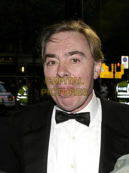 LORD ANDREW LLOYD-WEBBER.Woman In White Royal Gala Performance, Palace Theatre.September 13th, 2004.headshot, portrait, tongue, funny face.www.capitalpictures.com.sales@capitalpictures.com.© Capital Pictures.