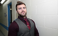 The 5 Star Wrestling press conference at the DSA Sheffield Arena, Sheffield, United Kingdom, 8th January 2018. Photo by Glenn Ashley.