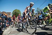2016 La Fleche Wallonne<br /> Huy, Belgium<br /> 20 April 2016<br /> Mikael Cherel, AG2R La Mondiale