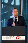 HSBC CEO Stuart Gulliver delivers a speech during the Relationship Managers Host Briefing in HSBC Headquarters on 05 April 2016, in Hong Kong, China. Photo by Lucas Schifres / Power Sport Images