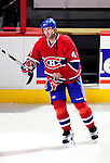 7 December 2009: Montreal Canadiens' defenseman Roman Hamrlik receives the First Star of the Game Award after facing the Philadelphia Flyers at the Bell Centre in Montreal, Quebec, Canada. The Canadiens rallied, and defeated the Flyers 3-1. Mandatory Credit: Ed Wolfstein Photo