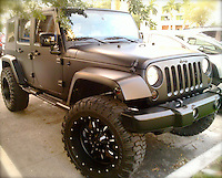 wrangler 4 door matter black jeep