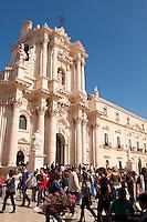 Il Duomo, Piazza del Duomo, Siracusa, Sicily