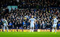 Leeds United players react to going 1-0 down<br /> <br /> Photographer Alex Dodd/CameraSport<br /> <br /> The EFL Sky Bet Championship - Leeds United v Queens Park Rangers - Saturday 8th December 2018 - Elland Road - Leeds<br /> <br /> World Copyright &copy; 2018 CameraSport. All rights reserved. 43 Linden Ave. Countesthorpe. Leicester. England. LE8 5PG - Tel: +44 (0) 116 277 4147 - admin@camerasport.com - www.camerasport.com