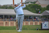 Brice Garnett (USA) watches his tee shot on 11 during Round 2 of the Valero Texas Open, AT&T Oaks Course, TPC San Antonio, San Antonio, Texas, USA. 4/20/2018.<br /> Picture: Golffile | Ken Murray<br /> <br /> <br /> All photo usage must carry mandatory copyright credit (© Golffile | Ken Murray)