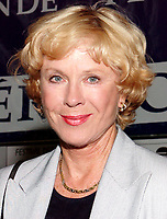 Montreal, 1999-08-27.<br />  The Swedish actress Bibi Andersson who preside the jury, was at a news conference on the first day of the 1999 World Film Festival in Montreal.<br /> First casted by Ingmar Bergman in a 1951 soap commercial, she quickly became one of his leading actesss, she also worked with many other movie directors such as Robert Altman and in theater and televisions dramatics classics.<br /> This year, the jury members are : Percy Adlon ; German director (Bagdad Cafe, Salmonberries, ...), Charlotte Laurier, Canadian actress, Mario Monicelli ;  Italian director, Pat O'Connors ;  Irish director and producer(Cal, Dancing at Lughnasa), Stephen Rea ;  Irish Actor (The Crying Game) and Fernando Solanas ;  Argentina director.<br /> Photo : (c) Pierre Roussel, 1999<br /> KEYWORDS :  Bibi Andersson, celebreties, cinema, World Film Festival, Montreal.