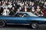 Movie Star Mural with Car, Hollywood, 1984