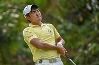 Takumi KANAYA (JPN) watches his tee shot on 7 during Rd 4 of the Asia-Pacific Amateur Championship, Sentosa Golf Club, Singapore. 10/7/2018.<br /> Picture: Golffile | Ken Murray<br /> <br /> <br /> All photo usage must carry mandatory copyright credit (&copy; Golffile | Ken Murray)