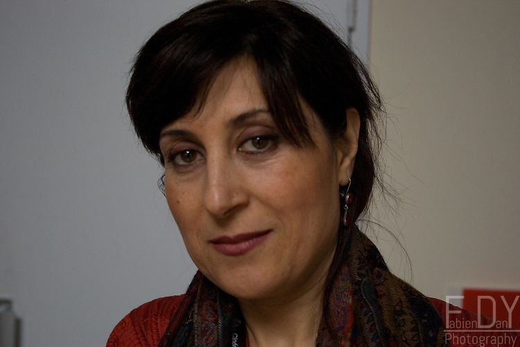 Fatemeh Motamed-Aria,president of the jury at the Vesoul 15th International Film Festival of Asian Cinema, 2009