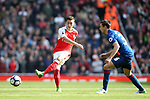 Arsenal's Mesut Ozil in action during the Premier League match at the Emirates Stadium, London. Picture date: May 7th, 2017. Pic credit should read: David Klein/Sportimage