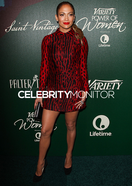 BEVERLY HILLS, CA, USA - OCTOBER 10: Jennifer Lopez arrives at the 2014 Variety Power Of Women held at the Beverly Wilshire Four Seasons Hotel on October 10, 2014 in Beverly Hills, California, United States. (Photo by Celebrity Monitor)