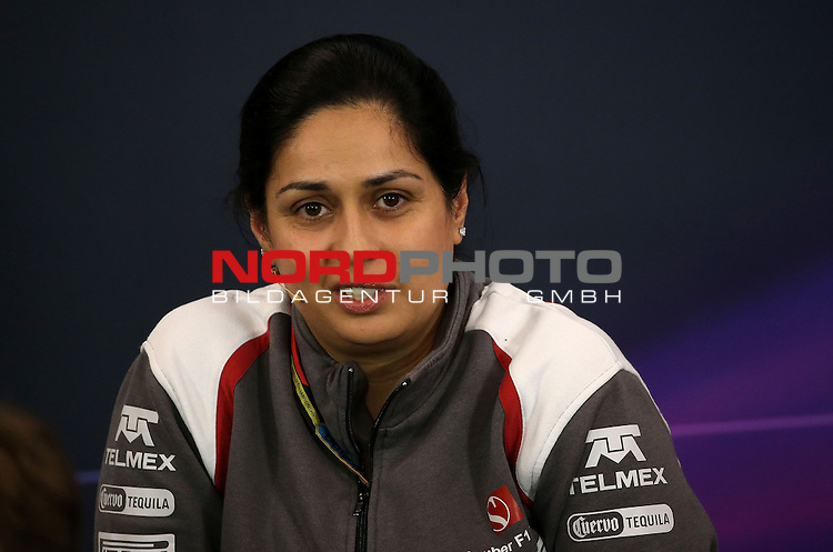 Monisha Kaltenborn (AUT), Sauber F1 Team, Managing Director<br /> for the complete Middle East, Austria &amp; Germany Media usage only!<br />  Foto &copy; nph / Mathis
