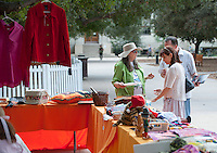 Women's Club Boutique in the Academic Quad during Homecoming, Oct. 25, 2014. (Photo by Marc Campos, Occidental College Photographer)