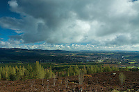 Banchory from Scolty Hill, Banchory, Aberdeenshire