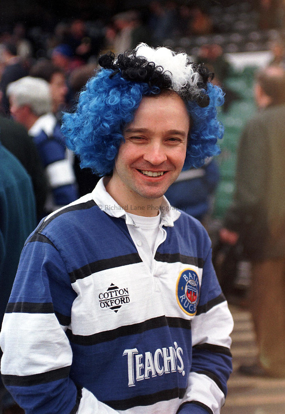 Photo. Richard Lane..Bath fan. 14/3/98.