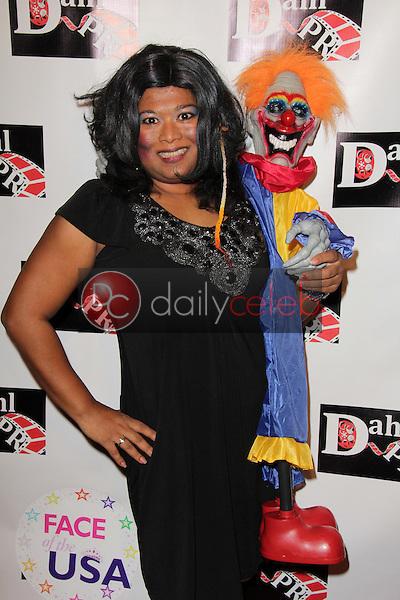 Thushari Jay<br /> at the Monster Man Costume Ball, Cabo Wabo, Hollywood, CA 10-16-13<br /> David Edwards/Dailyceleb.com 818-249-4998