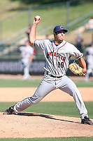 Michael Schurz -  Lancaster JetHawks playing against the Lake Elsinore Storm at the Diamond, Lake Elsinore, CA - 05/16/2010.Photo by:  Bill Mitchell/Four Seam Images