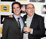 Andy Blankenbuehler & James Lapine attending the Broadway Opening Night Performance After Party for 'Annie' at the Hard Rock Cafe in New York City on 11/08/2012
