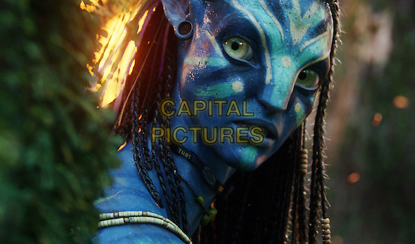 Neytiri (ZOE SALDANA) .in Avatar.*Filmstill - Editorial Use Only*.CAP/FB.Supplied by Capital Pictures.
