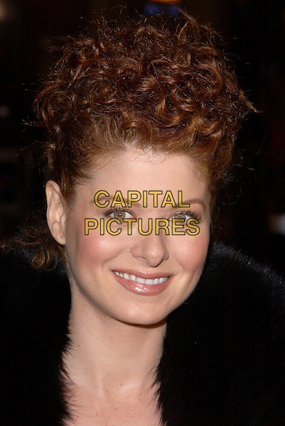 DEBRA MESSING.Universal Pictures World Premiere of Along Came Polly held at the Grauman's Chinese Theater .12 January 2004.headshot, portrait, smiling, pregnant.www.capitalpictures.com.sales@capitalpictures.com.©Capital Pictures.