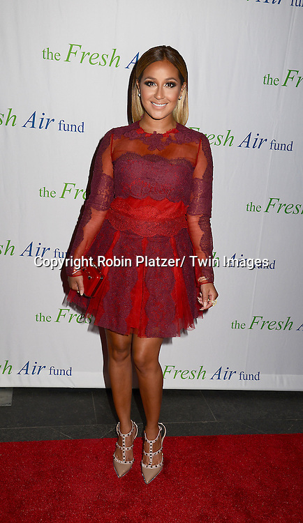 Adrienne Bailon attends The Fresh Air Fund Salute to Mariah Carey on May 29, 2014 at Pier Sixty at Chelsea Piers in New York, New York, USA.