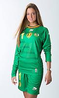 Miss Belgio, Laurence Langen presenta la nuova tenuta di gioco della nazionale del Belgio per i prossimi mondiali di calcio in Brasile <br /> Bruxelles 27-02-2014 <br /> Foto Koen Blanckaert Photonews / Panoramic / Insidefoto