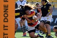 Tanya Kalounivale of Waikato during the Farah Palmer Cup - Wellington Pride v Waikato at Westpac Stadium, Wellington, New Zealand on Saturday 28 September 2019. <br /> Photo by Masanori Udagawa. <br /> www.photowellington.photoshelter.com